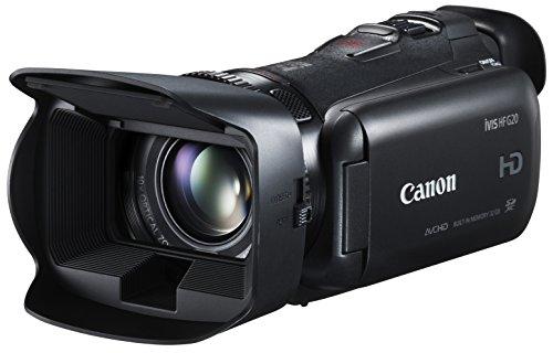 Canon digital video camera iVIS HF G20 10x optical zoom built-in 32GB memory Black ()