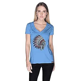 Creo T-Shirt For Women - L, Blue