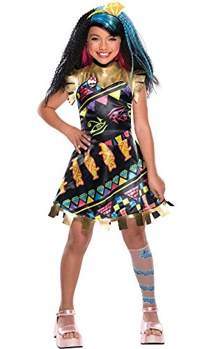 Rubie's Girls Monster High Electrified Cleo De Nile Costume Size Large 10/12