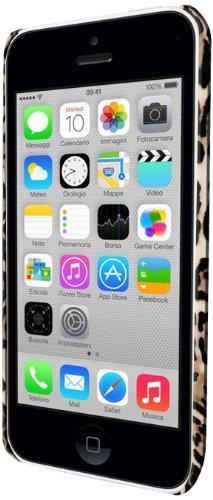 Celly Gelskin360A1 TPU Case für Apple iPhone 5C braun