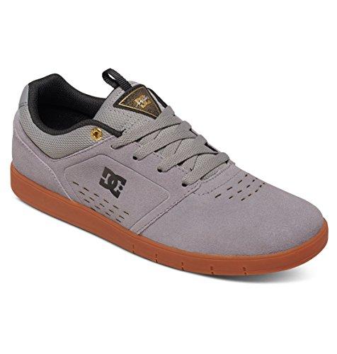 DC Mens Cole Signature Chris Cole Signature Skate Shoe, Black/Olive, 6 M US Gris/caoutchouc