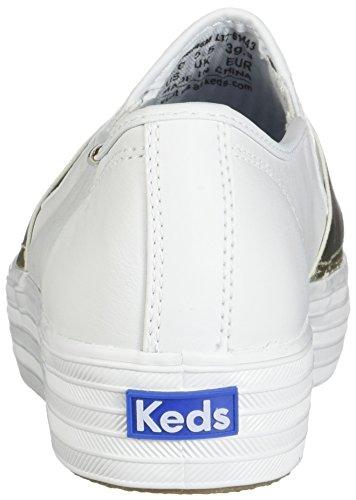 Keds Keds White Triple Triple Bandeau Leather 7wqvPgOax