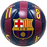 FC Barcelona Official Licensed Messi 10 Signature Soccer...