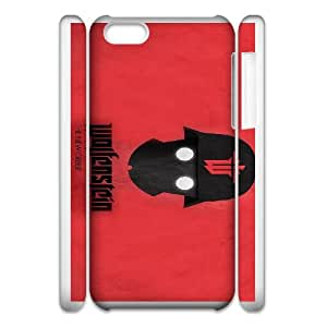 iphone 5c Cell Phone Case 3D games Wolfenstein The New Order xin2jy-4420550