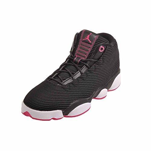 Jordan Kid's Horizon Low GG, Black/Vivid Pink-White, Youth Size 6 by Nike