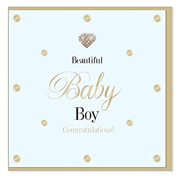 True Galería de corazones - Diamante Jeweled recién nacido Beautiful ...