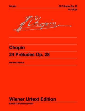 24 Preludes Op 28. Klavier