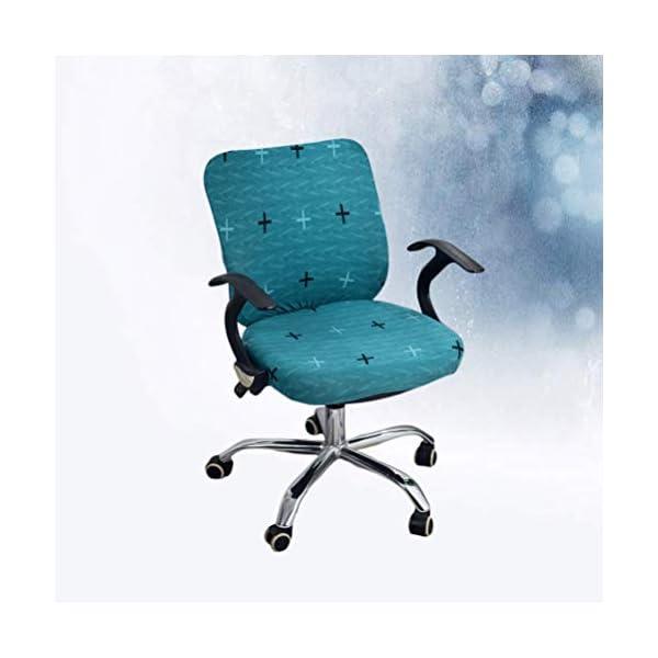 BESPORTBLE Housse Siège D'ordinateur Chaise Siège Bureau Tâche Chaise Couvre Bureau Tournant Chaise Couverture pour…