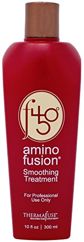 - Thermafuse f450 Amino Fusion Smoothing Treatment (10 oz) Formaldehyde Free Treatment. Repairs and Straightens Up To 12 Weeks on Natural, Normal, Coarse, Wavy, Thick, African and Curly Hair Types