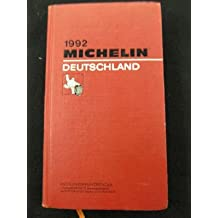 Michelin Red Guide: Germany, 1982