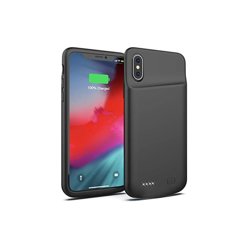 Battery Case for iPhone X, 4000mAh Porta