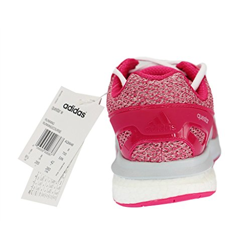 adidas Questar W, Botas de Fútbol Unisex Adulto Rosa / Blanco (Eqtros / Ftwbla / Gritra)