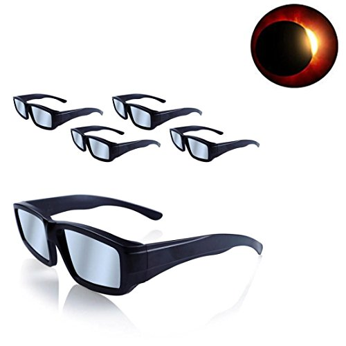 Price comparison product image Solar Eclipse Glasses,2017 Galaxy Edition CE and ISO Standard Viewing Solar Eclipse Glasses (Dark Blue)