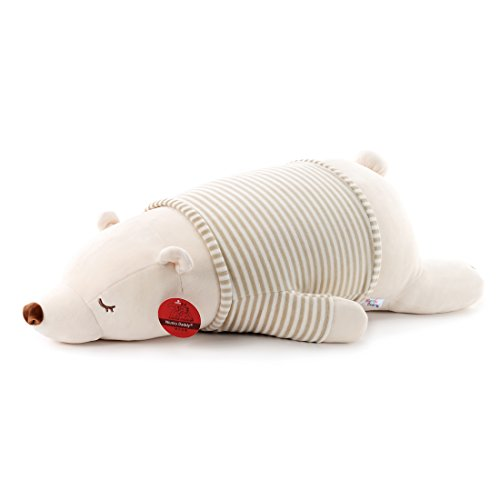 Niuniu Daddy 30 inch Super Soft Plush Polar Bear Stuffed Animal Toy Plush Soft Hugging Animal Pillow ()