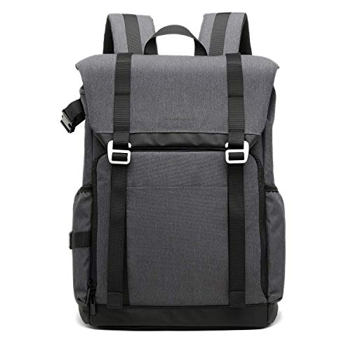BAGSMART Camera Backpack for SLR/DSLR Cameras & 15
