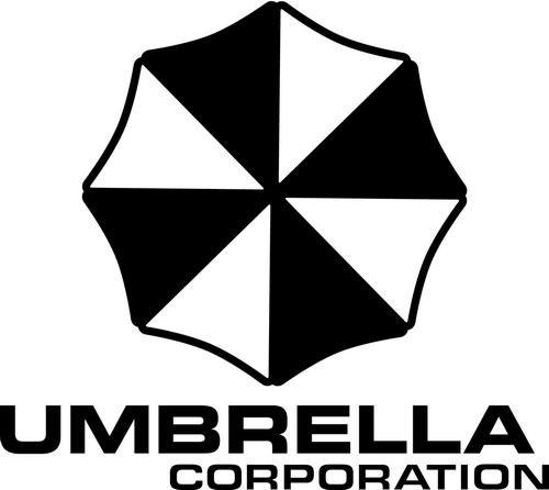 Resident Evil Stickers (Umbrella Corporation Resident Evil Vinyl Decal Sticker Bumper Car Truck Window- 6