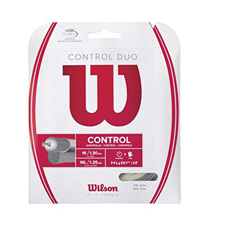 Hybrid Tennis String - Wilson Control Duo Tennis String