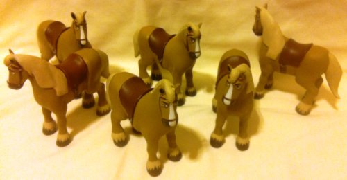 (Disney Beauty and the Beast Party Favor Favors Give Aways Goody Bag Fillers Set of 6 Philippe the Horse 3