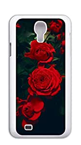 NBcase Elegant Red Rose Hard PC case for galaxy s 4 I9500