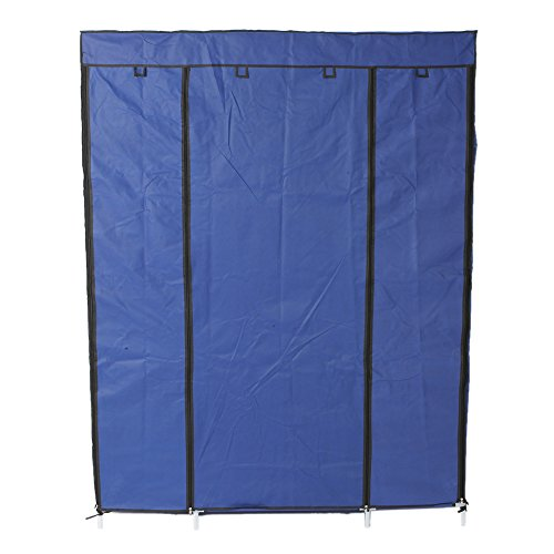 copylegend 5-Layer 12-Compartment Non-woven Fabric Wardrobe Portable Closet Navy (133x46x170cm) by copylegend