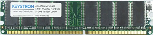512MB Dram Memory Upgrade for ASA 5505 ASA5505 Router (P/N: ASA5505-MEM-512. ASA5505-MEM-512D)