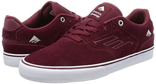 Emerica The Reynolds Low Vulc, Color: Red/White/Gum, Size: 43 Eu / 10 Us / 9 Uk
