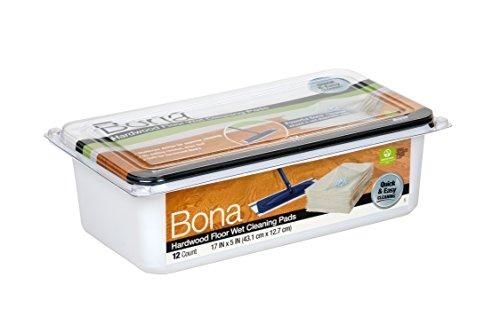 Price comparison product image Bona Hardwood Wet Disposable 12Count