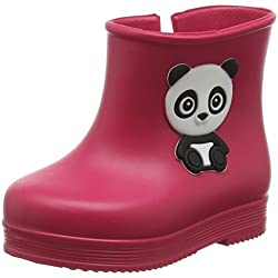 Zaxy Toddlers Pink Baby Bootie Panda Wellies-UK 7 Infant