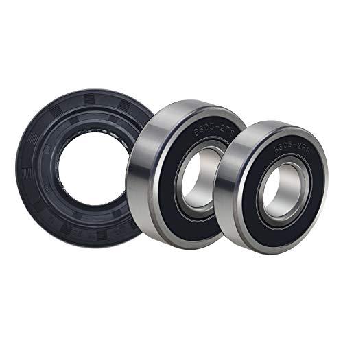 Front Load Washer Tub Ball Bearings Washing Machine Bearing Kit for LG & Kenmore Etc Replacement Part 4036ER2004A 4036ER4001B 4280FR4048E 4280FR4048L ()