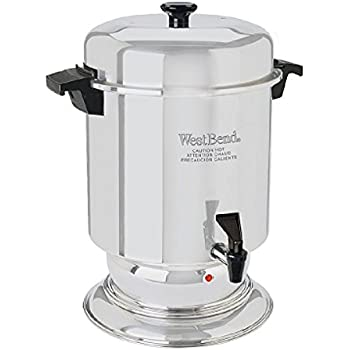 West Bend 55 Cup Commercial Stainless Steel Coffeemaker