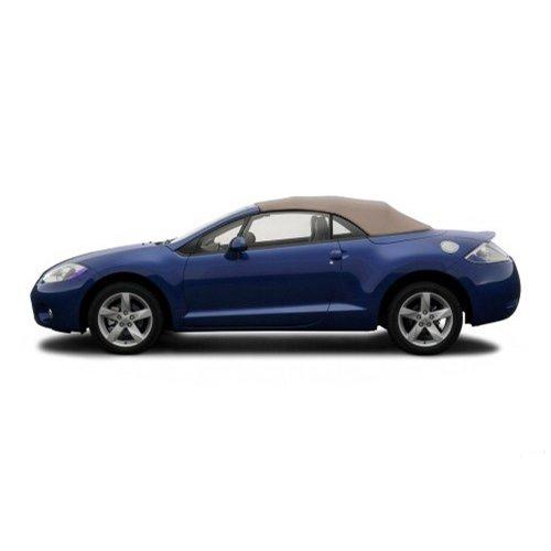Sierra Auto Tops Mitsubishi 2006-2009 Eclipse Spyder Convertible Top, Stayfast Canvas, Beige