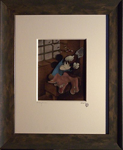 rare-mickey-mouse-animation-production-cel-from-brave-little-tailor-1938-courvoisier-background-fram