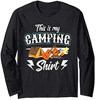 Birthday Gift This Is My Camping  Camping Gifts for Campers Long Sleeve/Shirt