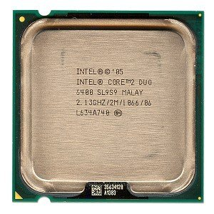 INTEL Core2 Duo Desktop Processor E6400 2.13 GHz 1066 MHz 2MB LGA775
