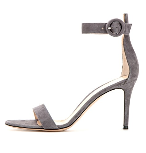 elashe - Correa para el tobillo Mujer Grau-Suede