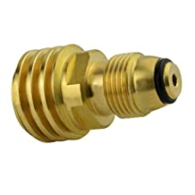 Onlyfire Universal Fit Propane Tank Adapters - Converts LP Tank POL Service Valve to QCC1 (Type 1) Outlet