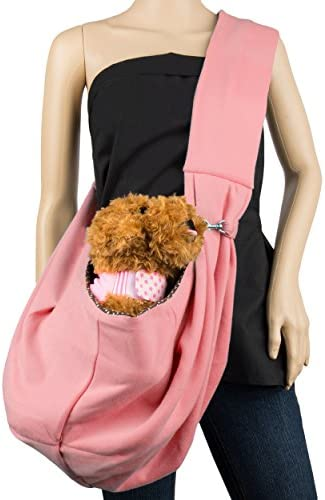 CueCue Pet Sling Pet Carrier with Safety Collar Hook