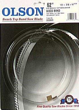 Blackstone Industries Olson Saw WB51662BL 62-Inch by 1/8 ...