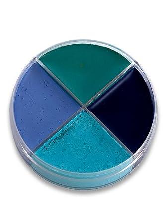Ocean Blaue Creme Schminke Makeup Schminkdose Halloween Karneval