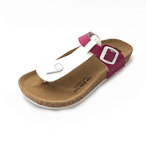 Gezer - Sandalias de vestir de Material Sintético para mujer Weiß