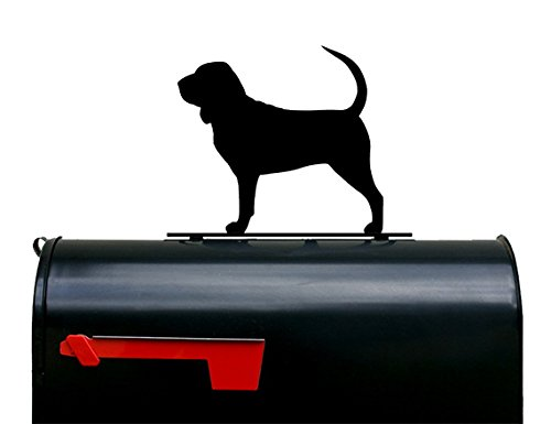 NewnanMetalWorks Bloodhound Dog Mailbox Topper/Sign by NewnanMetalWorks