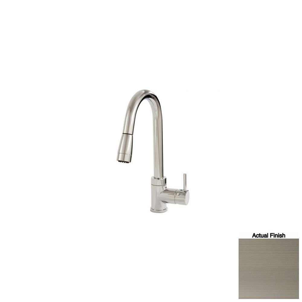 Aquabrass 33045-BNVD Pulmi Pull-Down Dual Mode Kitchen Faucet ...