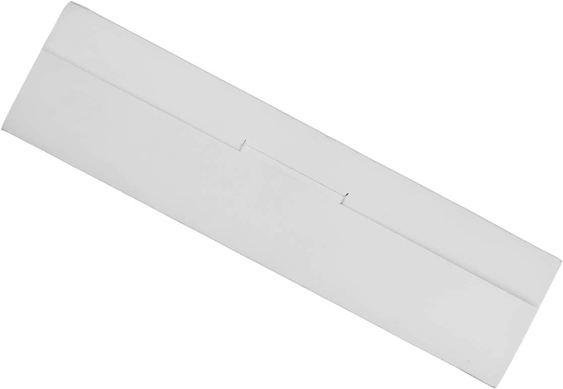 (Wei/ß) Ulable 24 Packung Kunststoff Duschvorhang Ringe Haken f/ür Badezimmer Vorh/änge