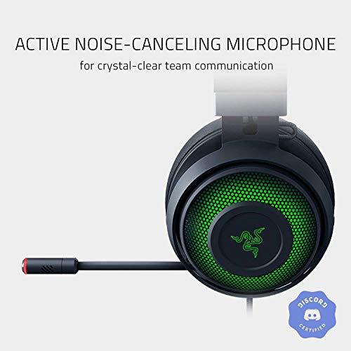 Razer Kraken UltimateCascos Gaming, Auriculares Gaming con USB, para PC y base de conmutación con sonido envolvente…