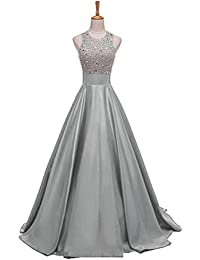 Amazon.com: Silver - Special Occasion / Dresses: Clothing, Shoes ...