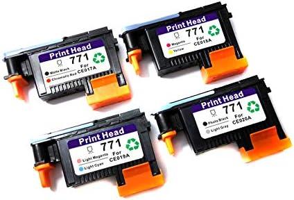 CE017A HP NO 771 DESIGNJET PRINTHEAD MATTE BLACK//CHROMATIC RED