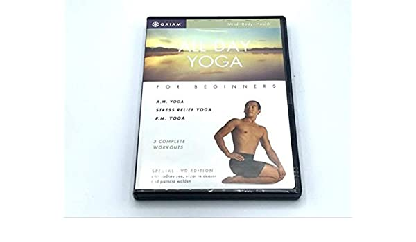 Amazon.com: ALL DAY YOGA FOR BEGINNERS -- AM YOGA STRESS ...