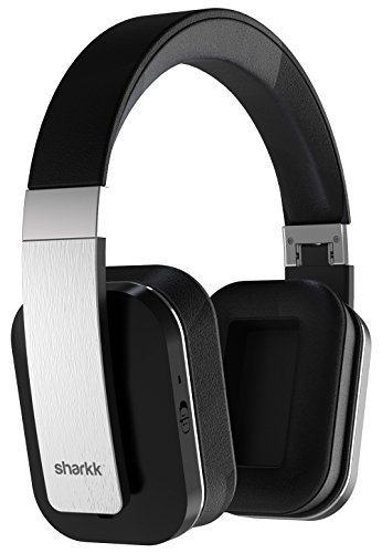 Sharkk Claro Wireless Headphones Active Noise Cancelling Bluetooth Headphones with Advanced Apt-X Technology 14 Hour Battery Built-In Mic and Super Soft Ear Cushions