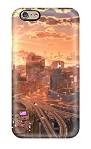 BSWSIGr2214QiULL City Artistic Abstract Artistic Fashion Tpu 6 Case Cover For Iphone