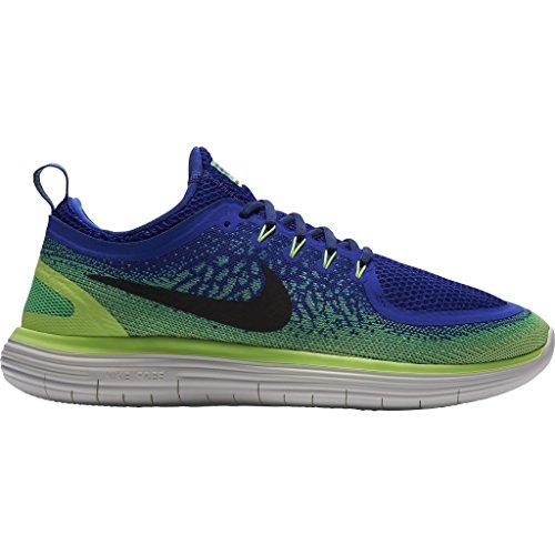 Nike Vrije Afstand Rn 2 Loopschoenen Blauw (bleusouverain / Vertelectro / Noir)